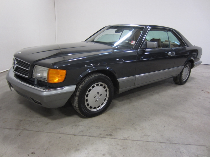 Find used 1986 mercedes benz 560 sec 5 6l v8 rwd leather for 1986 mercedes benz 560 sec